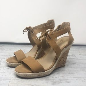 NWOT Vince Camuto Merrigan Wedge Sandals